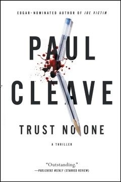 Trust no one : a thriller cover image