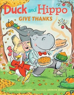 Duck and Hippo give thanks cover image