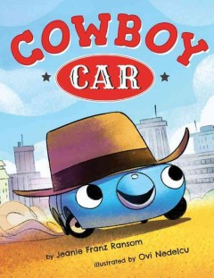 Cowboy car cover image