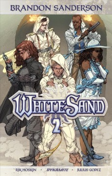 White sand. 2 cover image
