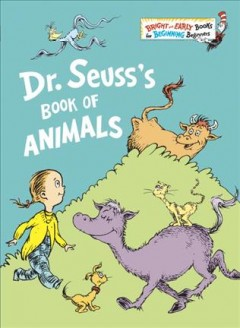 Dr. Seuss's book of animals cover image