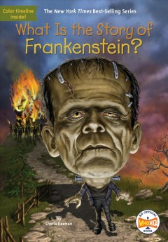 What is the story of Frankenstein? cover image