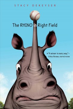 The rhino in right field cover image