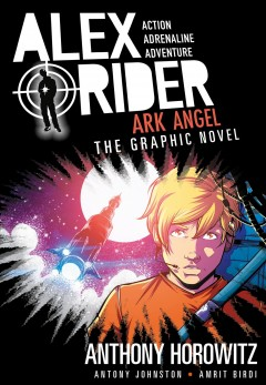 Alex Rider. Ark Angel, the graphic novel cover image