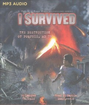 I survived the destruction of Pompeii, A.D. 79 cover image