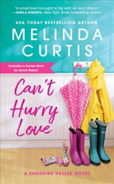 Can't hurry love cover image