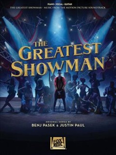 The greatest showman music from the motion picture soundtrack cover image