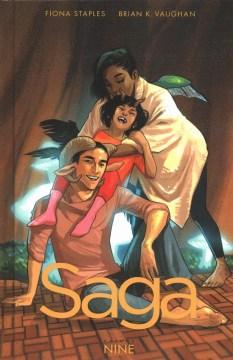Saga. Volume nine cover image