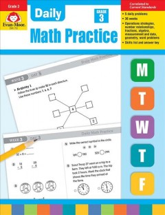 Daily math practice. Grade 3 cover image
