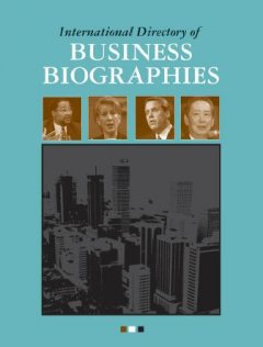 International directory of business biographies cover image