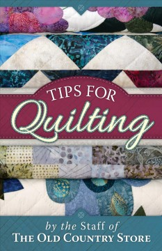 Tips for quilting cover image