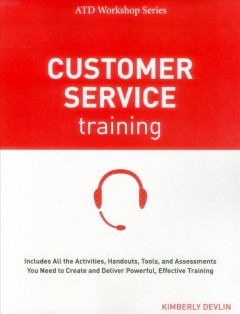 Customer service training cover image