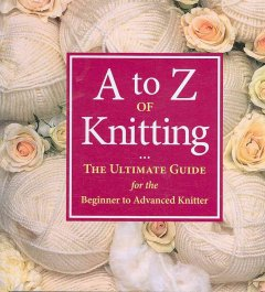 A to Z of knitting cover image
