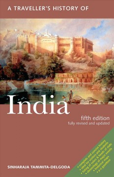 A traveller's history of India cover image