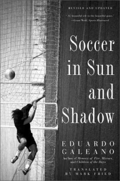Soccer in sun and shadow cover image