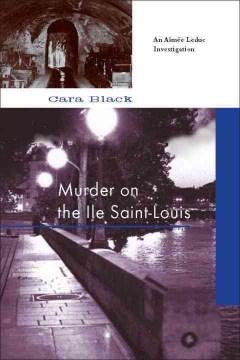 Murder on the Ile Saint-Louis cover image