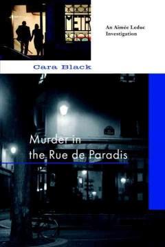 Murder in the rue de Paradis cover image
