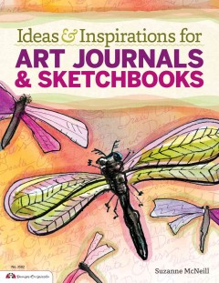 Ideas & inspirations for art journals & sketchbooks cover image