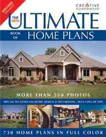 The new ultimate book of home plans cover image