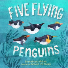 Five flying penguins cover image