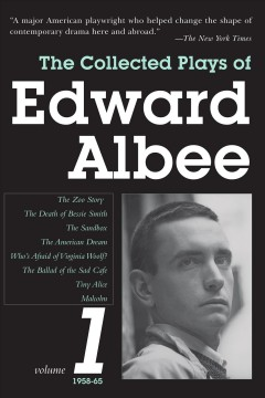 The collected plays of Edward Albee cover image