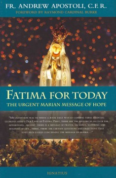 Fatima for today : the urgent Marian message of hope cover image