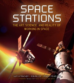 Space stations : the art, science, and reality of working in space cover image