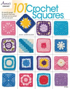101 crochet squares cover image