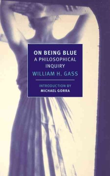 On being blue : a philosophical inquiry cover image