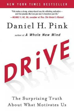Drive : the surprising truth about what motivates us cover image
