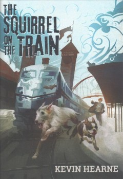 The squirrel on the train cover image