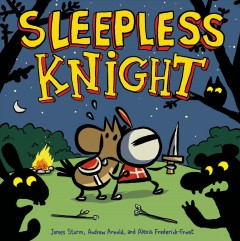 Adventures in cartooning jr. Sleepless Knight cover image