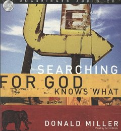 Searching for God knows what cover image