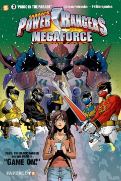 Saban's Power Rangers megaforce. 3, Panic in the parade cover image