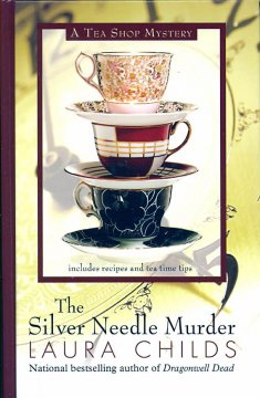 The silver needle murder cover image