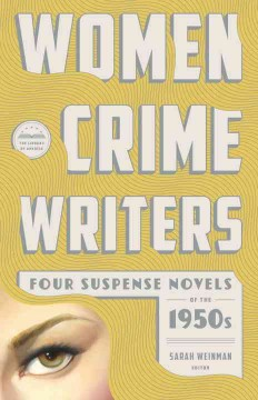 Women crime writers. Four suspense novels of the 1950s cover image