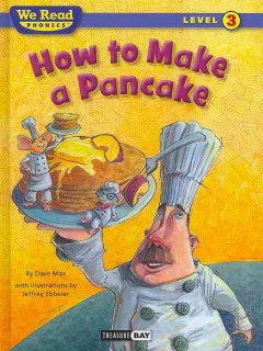 How to make a pancake cover image