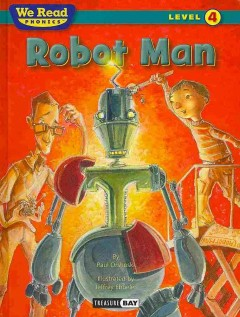 Robot man cover image