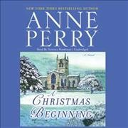 A Christmas beginning cover image