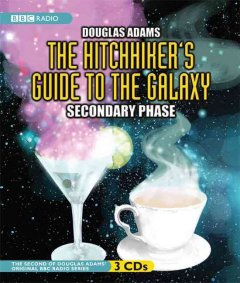The hitchhiker's guide to the galaxy. Secondary phase cover image
