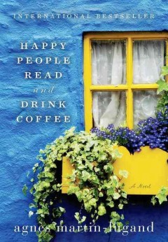Happy people read & drink coffee cover image