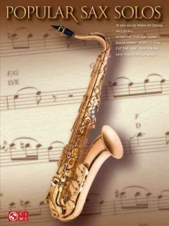 Popular sax solos cover image
