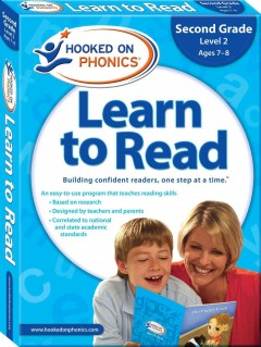 Hooked on phonics. Learn to read, Level 2, ages 7-8 Second grade, cover image