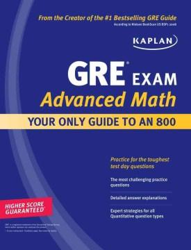 GRE exam advanced math cover image