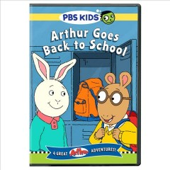Arthur goes back to school cover image