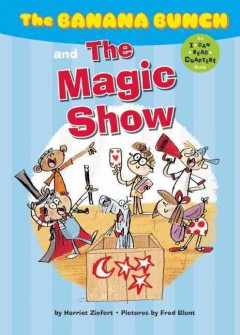 The Banana Bunch and the magic show cover image