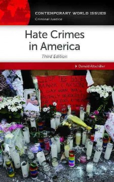 Hate crimes : a reference handbook cover image