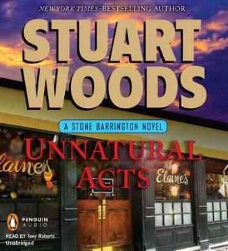 Unnatural acts a Stone Barrington novel cover image