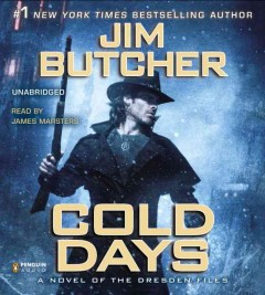 Cold days a novel of the Dresden files cover image