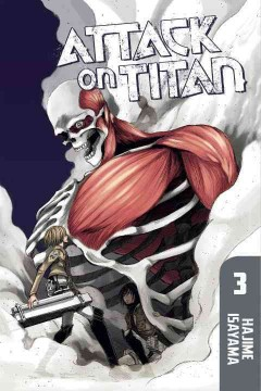 Attack on Titan. 3 cover image